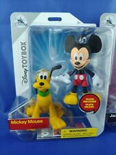 Disney Parks Exclusive ToyBox Mickey Mouse and Pluto Action figure
