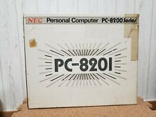 NEW NEC PC-8201 Japan *HOLY GRAIL - BRAND NEW - COLLECTORS ITEM - $300 OFF*