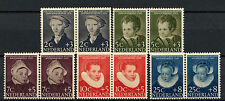 Netherlands 1956 SG#838-842 Child Welfare Fund MNH Pairs Set Cat £32 #A62859