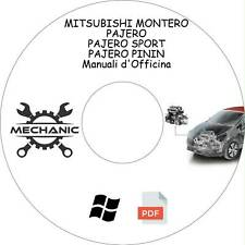 MITSUBISHI MONTERO/PAJERO- Guida Manuali d'Officina -Riparazione e Manutenzione!