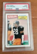 1987 Topps - Lupe Sanchez #292 - PSA 10 - Pittsburgh Steelers - POP 14