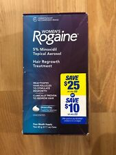 ROGAINE 5278022 Women's 5 % Minoxidil Hair Foam-4 month supply Exp 1/2020+
