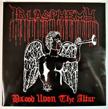 "Blasphemy - Blood Upon The Altar 12"" Red LP Die Hard Rare Sarcofago Bathory"