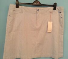 NEW MARKS AND SPENCER SIZE 20  BLUE MIX SUMMER STYLE SKIRT Per Una £35, BNWT