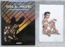 Sillage 7 EO 2004 + ex-libris en sérigraphie n & s Buchet Morvan