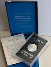 1885 CC Morgan Silver Dollar GSA Carson City US Coin Box and Paperwork