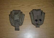 2 X GENUINE RARE USMC FSBE EAGLE INDUSTRIES M67 GRENADE POUCHES COYOTE NEW !!!