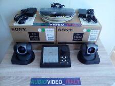 2x New SONY EVI D100 PAL + VISCA Controller WEBTV RM BR300 ANYCAST BRC SRG HD