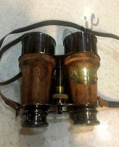 Antique Binoculars ,1920s Dollond Marine Telescope London Engraved