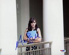 Aubrey Peeples SIGNED 8x10 Photo Nashville Jem & Holograms PSA/DNA AUTOGRAPHED