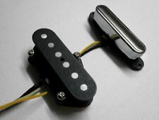 Telecaster Custom A5 Pickups SET Bridge Neck Hand Wound Fits Fender By Q pickups