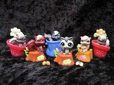 Littlest Pet Shop Lot of Skunks #484 (x2) 614 1233 540 Flying Squirrel 1823