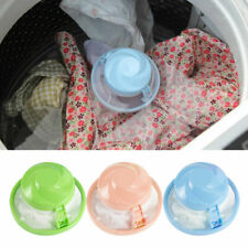 Washing Machine Laundry Bag Floating Lint Hair Catcher Remover Mesh Filters NEW