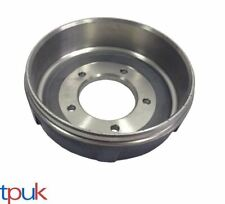 FORD TRANSIT 2.4 MK6 BRAKE DRUMS 2000-2006 RWD SINGLE WHEEL 5 STUD 1