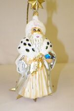 "Vintage Christopher Radko 8"" King Ornament"