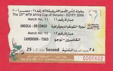 TICKET Confed Cup 18.6.2017 Kamerun Chile # Match 3