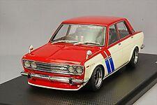 Ignition model 1/18 Datsun Bluebird SSS (510) Red / White Resin Model IG0617