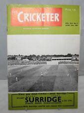 The Cricketer - 25th June 1960, Vol. XLI No.5 - England v South Africa at Lords