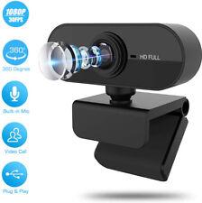 HD 1080P Webcam 4K w/Microphone USB Camera For PC/Mac Laptop Desktop Video Call