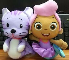 "Fisher-Price Nickelodeon Bubble Guppies KITTY MOLLY 7.5""Plush Toy 2pcs"