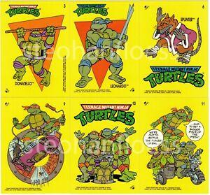 1989 Topps Teenage Mutant Ninja Turtles TMNT Sticker You Pick Finish Your Set