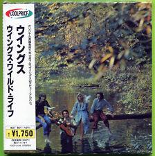 PAUL McCARTNEY WINGS Wild Life 14-trk CD Japan mini-LP CD OBI Strip The Beatles