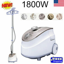 2In1 1800W Heavy Duty Stand Garment Steamer Clothes Iron Fabric Wrinkle 11-Level