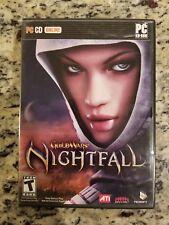 Guild Wars Nacht PC Spiel Komplett 3 Disc. Kostenloser Versand