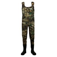 Dirt Boot® Camo Neoprene Chest Waders 100% Waterproof Coarse Fishing Muck Wader
