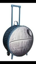 Disney Death Star Rolling luggage Travel Children's Suit Case- Gray- New w/ Tags