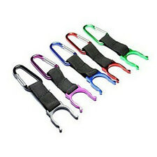 5x Aluminum Carabiner D-Ring Key Chain Keychain Clip Hook Outdoor Bottle Buckle