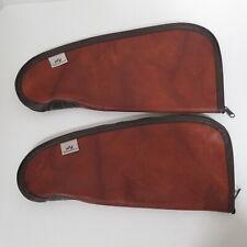 Lot Of 2 Weathershield Vintage Padded Gun Cases