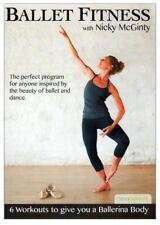 Ballet Barre Toning EXERCISE DVD - Ballet Fitness with Nicky McGinty