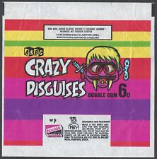 More details for a&bc wrapper-crazy disguises 1970 (offer bazooka joe t-shirt)