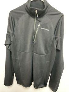 Patagonia Mars R1 Regulator Grid Fleece Pullover - Black - Size LargeNWOT