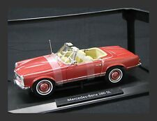 Norev Mercedes-Benz 280 SL 1:18 Metallic Red (JS)