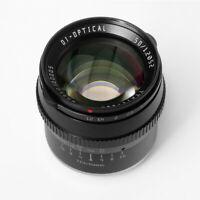 TTArtisans 50mm F1.2 APS-C Lens for Fujifilm X-T3 X-Pro2 X-E2 X-H1 X-T3 X-A1