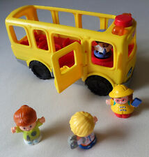 Fisher Price Little People Sit With Me School Bus & Figures DJB52