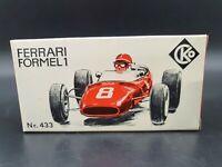 CKO Kellermann Nr.433 Ferrari Formel 1 Leer Box Schachtel 1969 in rot
