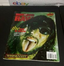 "WWE RAW PRO WRESTLING MAGAZINE ""THE YEAR IN REVIEW"" JANUARY 1999 WWF WCW WAR NWO"