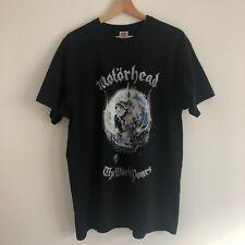 Motorhead Printed Black T-shirt Size XL