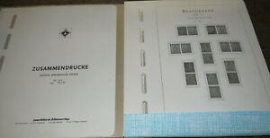 Leuchtturm Vordruck DDR Zusammendrucke 1945(West-Sachsen) - 1972