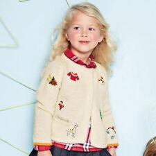 NEXT Pullover Sweatshirt Weihnachten für Mädchen 2-3 Jahre 98cm