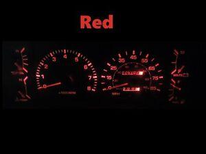 Gauge Cluster LED Dashboard Bulbs Red For 84 88 Toyota Pickup SR5 4Runner