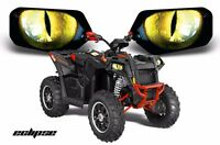 Headlight Eye Graphics Kit Decal Cover For Can-Am Outlander-L 2014-2017 ECLPS Y