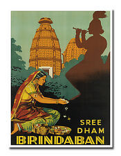 "Travel Poster India Art Decor Vintage Print 12x16"" Rare Hot New XR640"