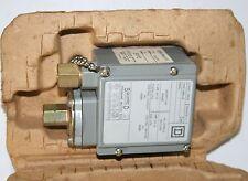 SQUARE D Cl 9012 GAW-2 Ser C Machine Tool Pressure Switch 1-40 psig 7-275 KPa