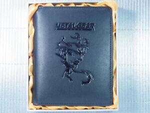 Metal Gear Solid Snake Helmet Leather Wallet