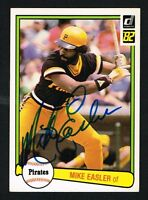 Mike Easler #221 signed autograph auto 1982 Donruss Baseball Trading Card