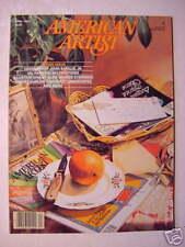 AMERICAN ARTIST April 1984 ROBERT SUDLOW ARTHUR STERN +